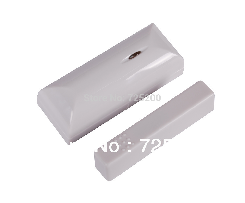 Wireless Magnetic Contact Door/Window Sensor, 868MHZ, White Color, Non-Antenna Slim Design, for GSM PSTN Home Alarm System<br><br>Aliexpress
