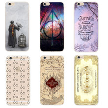Buy Harry Potter Case iphone SE 5 5S 6 6S 6S 7 Plus Transparent Hard Plastic Cases Phone Back Cover Coque iPhone 7Plus Capa for $1.03 in AliExpress store