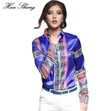 Buy Women Blouses Loose Elegant Long Sleeve Chiffon Blouse Tops Casual Vintage Printing Shirt Plus Size Women Clothing Blusas for $13.47 in AliExpress store