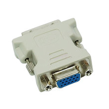 VGA 15 Pin Female to DVI-D Male Adapter Converter LCD HB88