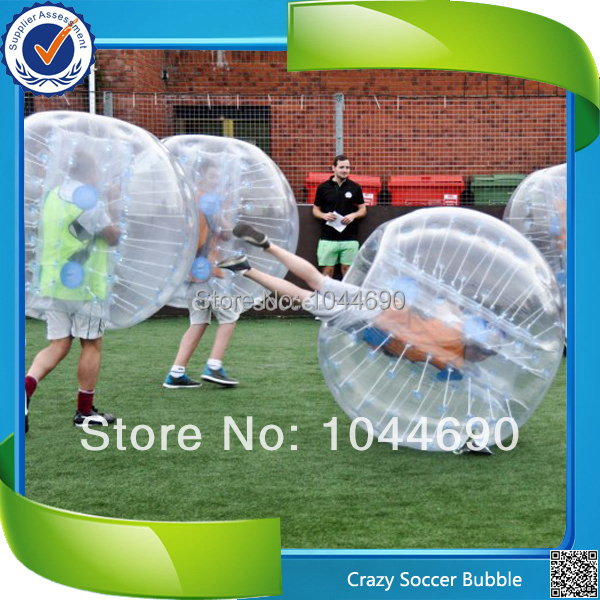 HOT ST03 0.8mm PVC 1.5m Inflatable Body Football,Inflatable Zorbing Games,Newest Soccer Air Bumper Ball Drop Shipping(China (Mainland))