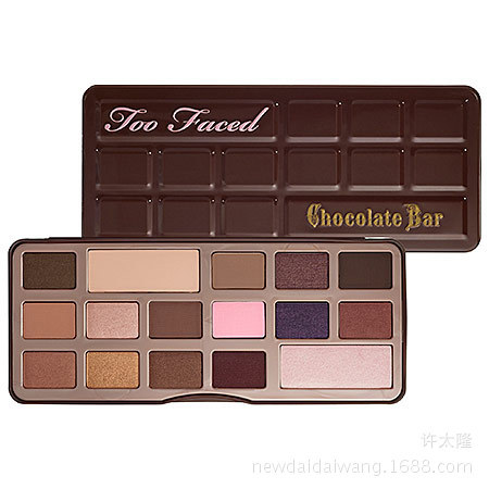 16 color Eyeshadow palette lorac Brand Makeup shimmer Eye Shadow With Chocolate eye shadow tray(China (Mainland))