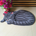 New Lovely Sleeping Cat Doormats Indoor Bedroom Antiskid Carpet Area Rugs and Carpets Floor Mats Home