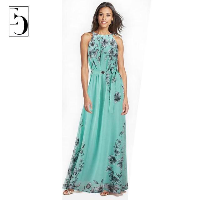 Женщины Большой размер платья лето мода Bahemian пляж шифоновое платье сексуальный ...