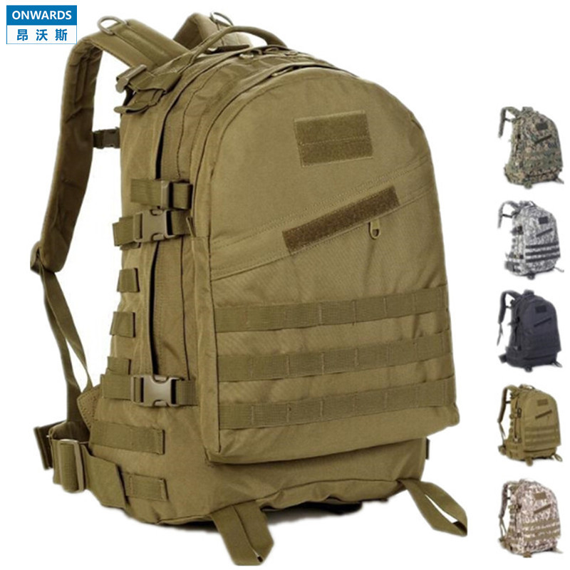 ONWARDS Men's Military ACU Backpack 40L1000D Waterproof Mochila Laptop Backpack Tactical Bag Outdoor Camping Hiking Travel Bolsa(China (Mainland))