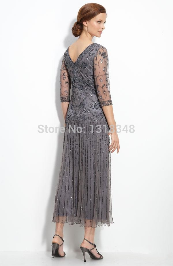 tea length mother of the bride dresses plus size - Sizing