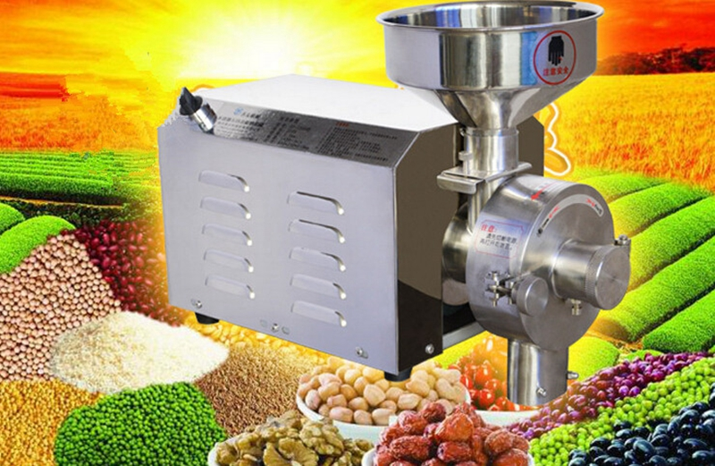 Brand new Food Processing Machinery Multi Function Grain Grind Mill 2.2KW(China (Mainland))