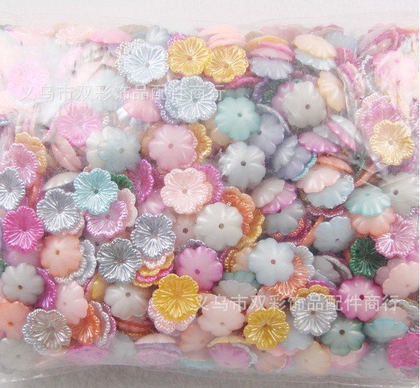 Wholesale 1000pcs/bag mix colors ABS flower pearl,DIY hair ornament accessories,card making & scrapbooking,DIY crafts,handcraft