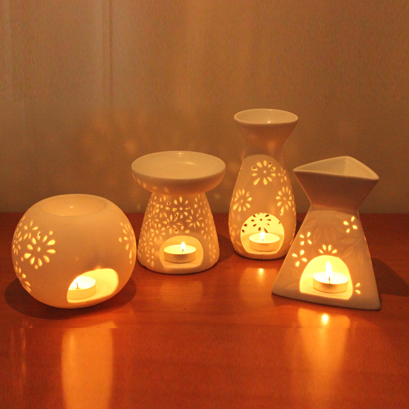 Ceramic Aromatherapy Furnace Aromatherapy Lamp Candle