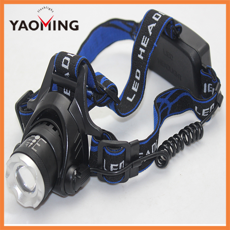 Head light head lamp XML T6 2X zoomable adjustable 2000 lumen 500 meter headlamps flashlight led