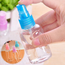1 Pcs Mini Plastic Transparent 30ml Small Empty Spray Bottle For Make Up And Skin Care Refillable Bottle(China (Mainland))