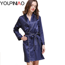 Silk Bathrobe Women Satin Kimono Robes For Women Robes Bridesmaids Long Kimono Robe Bride Silk Robe Dressing Gown(China (Mainland))