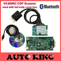 2016 Best with Bluetooth v5 008R2 keygen WO cdp TCS CDP pro obd2 scan ON cars