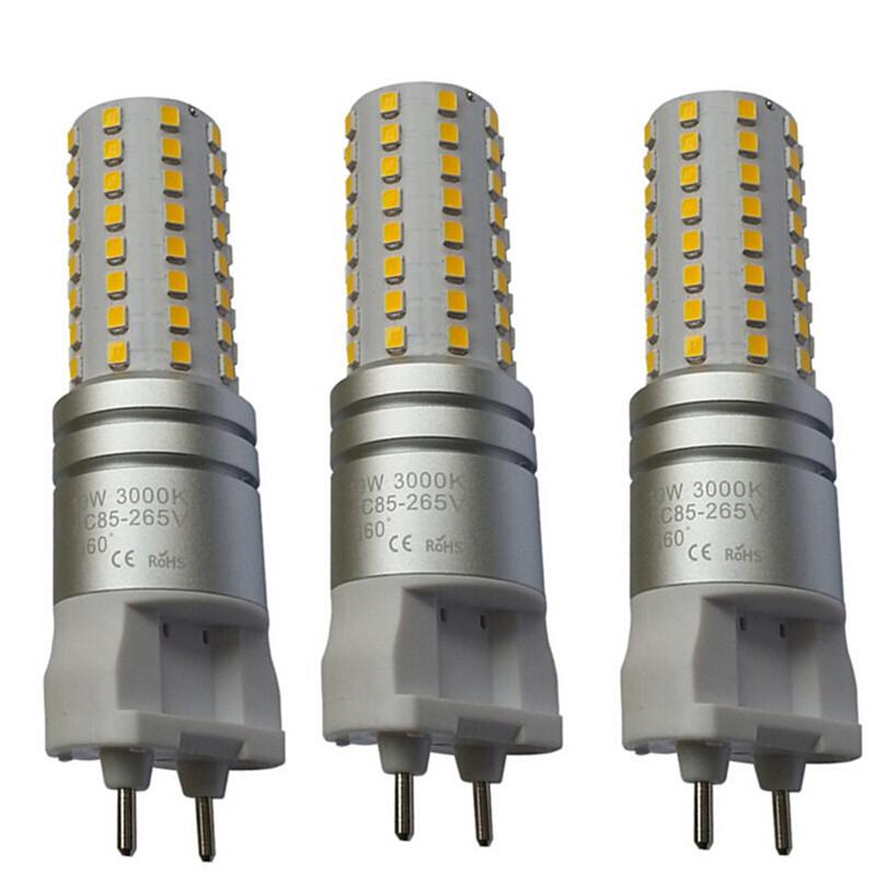 10W G12 LED Corn Bulb Lights With Radiator G12 Lamp 96pcs SMD2835 CE ROHS AC85-265V LED Corn Spotlights(China (Mainland))