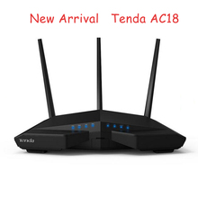 Tenda AC18 WiFi Router With USB 3.0 AC1900 Smart Dual Band Gigabit Wi-Fi Repeater 802.11AC Remote Control APP English Firmware(China (Mainland))
