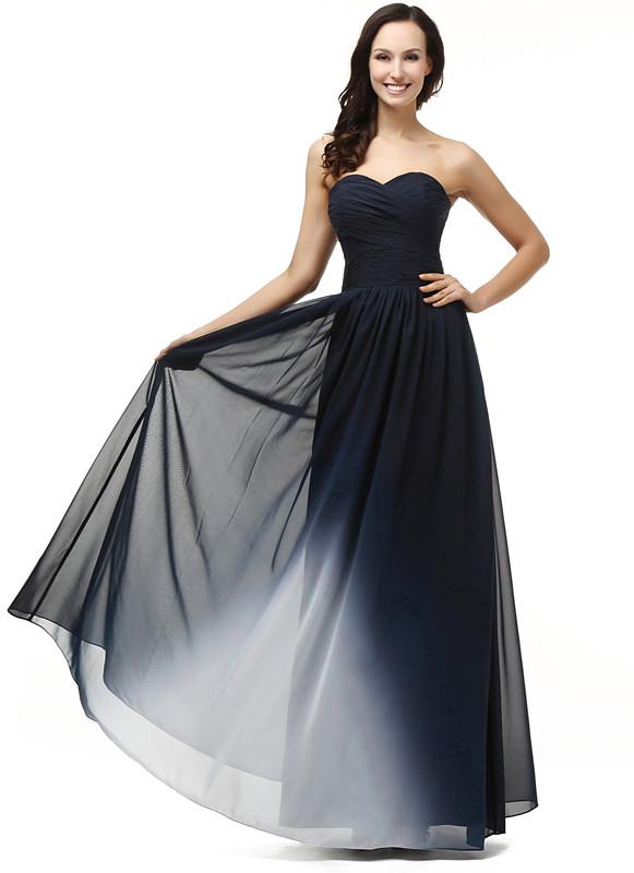 Navy Ombre Kleid WerbeaktionShop für Werbeaktion Navy