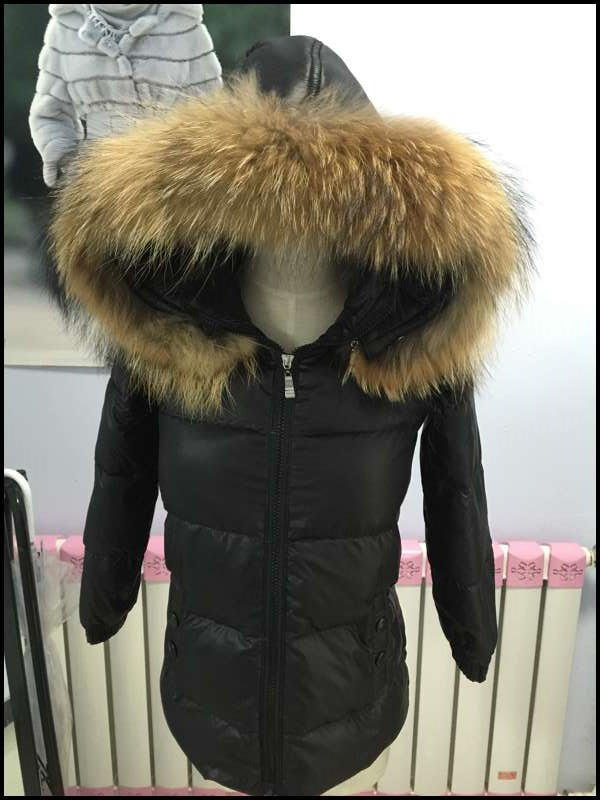 Free Shipping 2015 New Arrival Winter Women Raccoon Fur