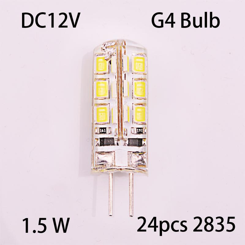free shipping 5 x Halogen Light Bulb Clear 1.5W 1.5 Watt 12V G4 Base JC Type(China (Mainland))