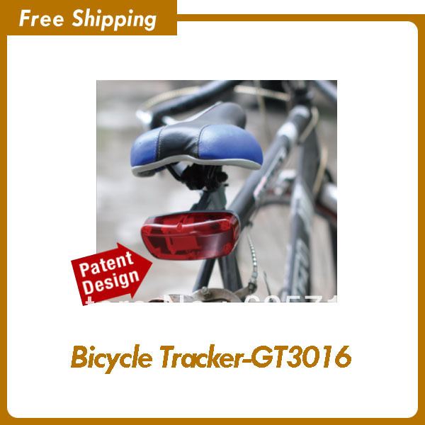 Bike gps tracker to track and secure your bike, spylamp and taillight design