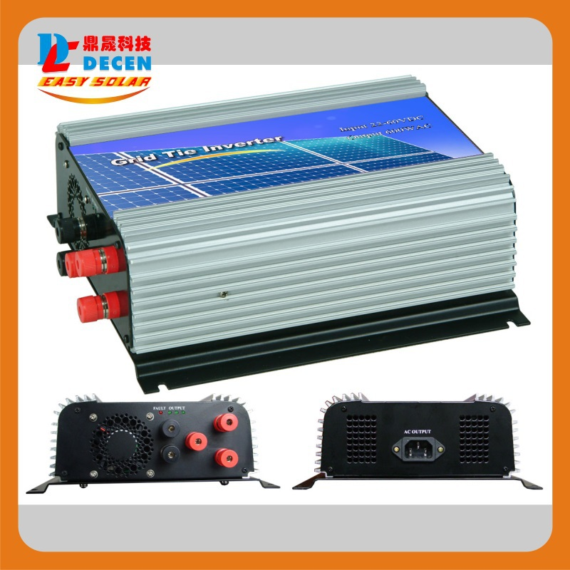 DECEN@ 3 Phase Input10.8-30V 500W Wind Grid Tie Pure Sine Wave Inverter For 3 Phase 12V Wind Turbine ,No Need Extra Controller(China (Mainland))