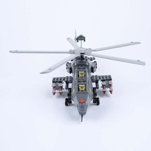 High Quality Newly Style Blocks Suitale For Children 6Y+ WZ-10 Fiery Thunderbolt Helicopter Gunships 304PCS
