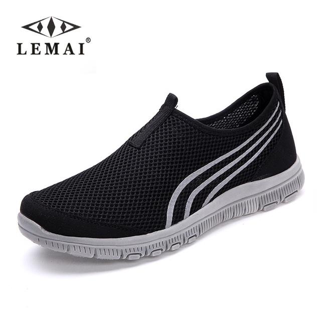 Продажи! новые мужские повседневная обувь Лето Zapato Повседневная воздухопроницаемой ...