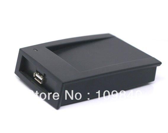 USB 125KHz RFID Reader,Compatible EM4100 desktop reader,OEM output 14 Numbers(China (Mainland))