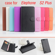 9 Type Lichi Texture High Quality Elephone S2 PLUS Leather Case Flip Cover for Elephone S 2 PLUS Case mobile Phone Cover Bags