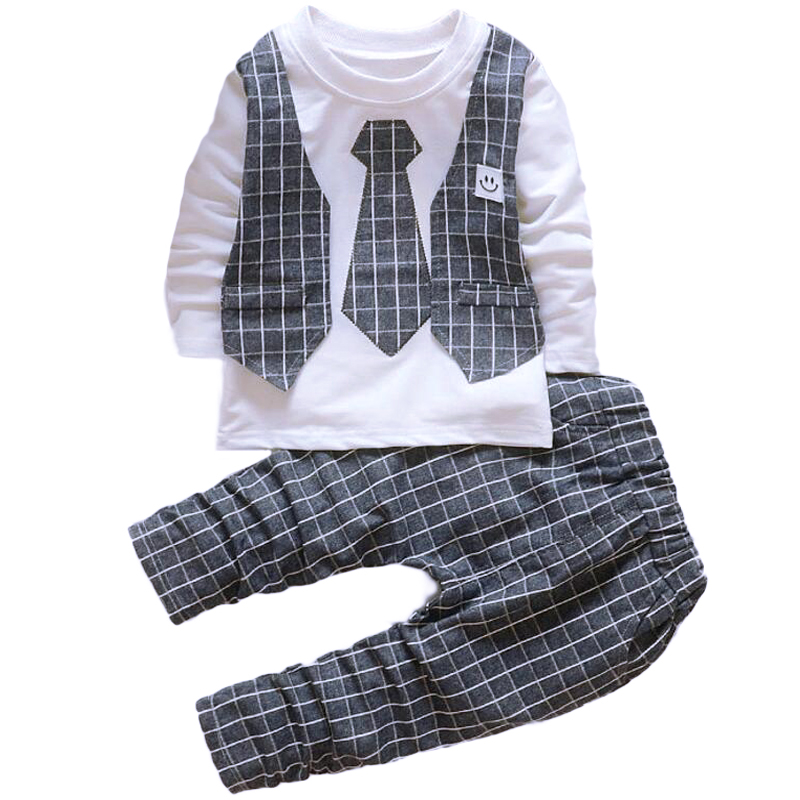 Formal Costume for boys suits for weddings Baby boy 1 2 3 4 year birthday dress children toddler suit for wedding vest and tie(China (Mainland))