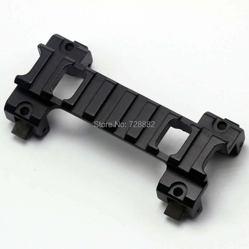 Free Shipping 20mm Picatinny Weaver Laser Scope Mount Base Claw for MP5 G3 Series Airsoft Gun