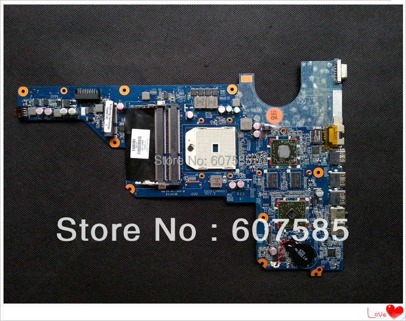 Фотография 649950-001 For HP Pavilion G4 G6 G7 laptop Motherboard Mainboard Fully tested