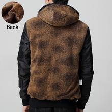 2015 winter coat Men s fashion warm padded jacket mens cotton men casual European style winter