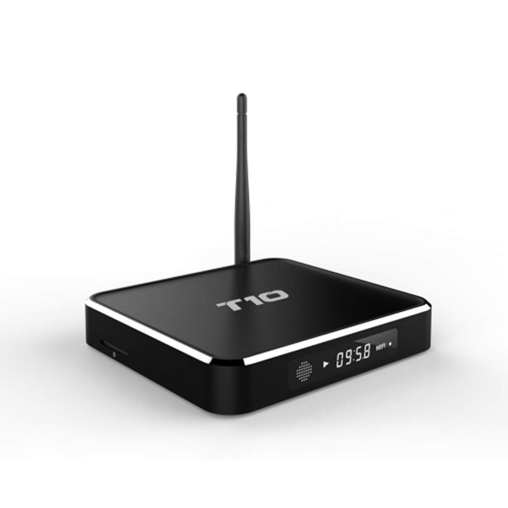 2pcs T10 Hot Sale Android 5 1 TV Box 1G 8G Set Top Box With font