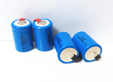 4PCS x Ni-Cd 4/5 SubC Sub C 1.2V 2200mAh Rechargeable Battery with Tab – Blue Color Free Shipping