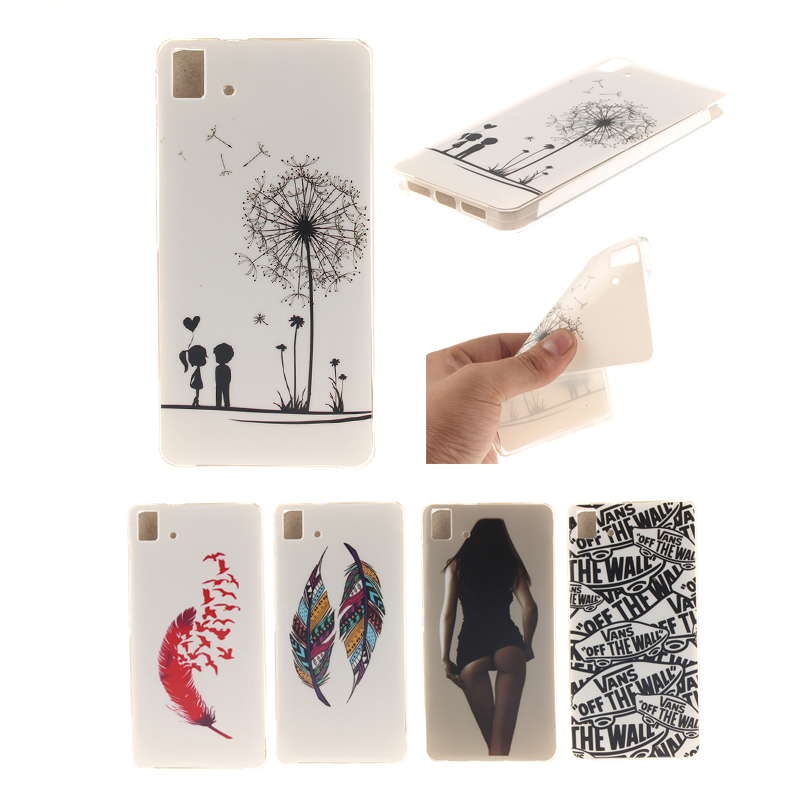 Painted Soft TPU Phone Case Cover For BQ Aquaris E5 4G 3G Universal Silicon Cover Scratch-proof Mobile Phone Cases for BQ E5(China (Mainland))
