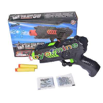 2 in 1 Water Crystal Paintball & Soft Bullet Gun Toy Pistol Toy CS Game Toy(China (Mainland))