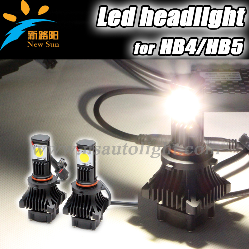 Super bright 3600 lumen 9005 cree led headlight headlamp 6000K, cree cxa1512 50w 9005 HB3 LED headlight Canbus headlight led kit