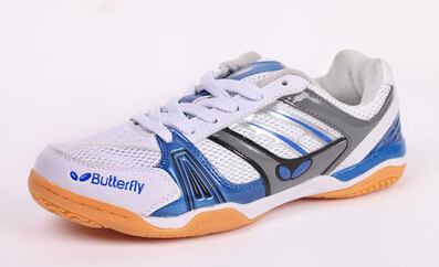 Free shipping !Butterfly table tennis shoes, professional sports shoes , men's and women shoes size:36-46(Standard shoes size)(China (Mainland))
