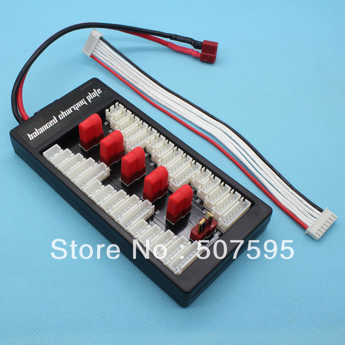 6in1 parallel charging board for Imax Balance B6 B8 Balance charger RC parts, welcome wholesales(China (Mainland))