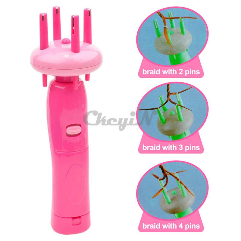 X-PRESS Quick Easy DIY Automatic Hair Braider Tool Roller Machine And Twist Hair Braiding Machine for Girls Women HS19RQ-P00(China (Mainland))