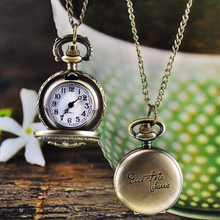 Excellent Quality New Brand Pocket Watches Unisex Vintage Retro Quartz-Watch Fashion Chain Necklace Pendant Fob Watches Reloj