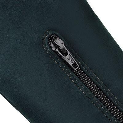ENMAYER Stretch Fabric + Flock Fashion Womens Wedges High Platform