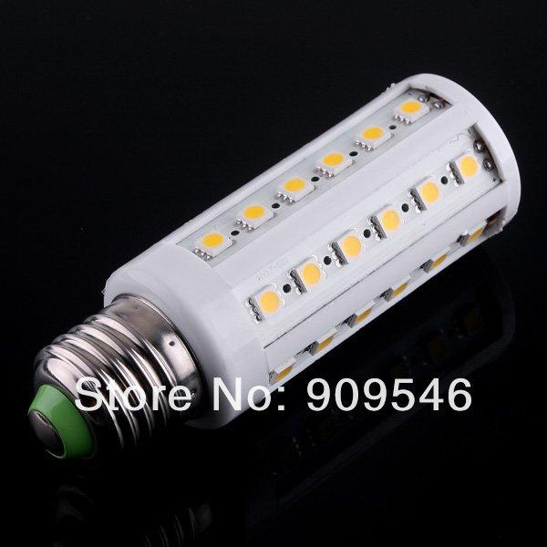 20pcs/lot SMD5050 E27 9W 800LM Warm White/Cool white 44LED Corn Light Bulb LED Lamp led lighting 200V-240V free shipping dhl<br>