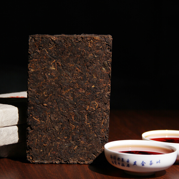 Made in1980 Ripe Puer Pu er Tea oldest puer tea ansestor antique honey sweet dull red