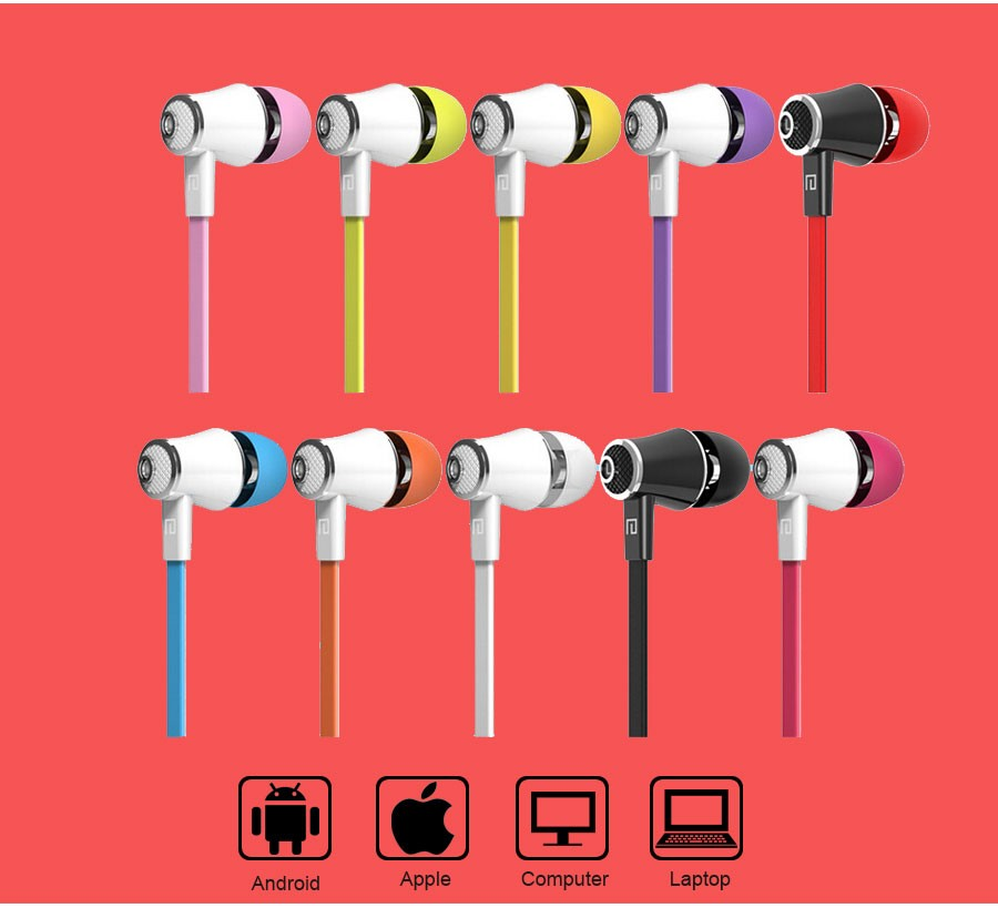 Langsdom JM21 Stereo Earphones 3.5MM In-Ear Headphones Earbuds Super Bass Headset Handsfree With MIC For Phone MP3 MP4