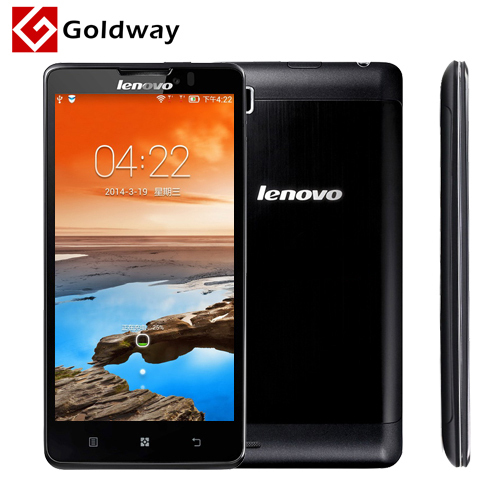 Original Lenovo P780 Phone Quad Core MTK6589 Android 4.2 5.0 inch 1280x720 1GB RAM 4GB ROM 8.0MP 4000mAh battery GPS Goldway(Hong Kong)