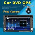 2 din car dvd player GPS USB universal car radio audio auto car parking sensor stereo