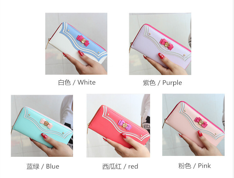 2015 New Samantha Vega Sailor Moon 20th Anniversary Limited Edition Ladies Long Zipper Female Bag Women Leather Wallet Purse-in Wallets from Luggage & Bags on Aliexpress.com | Alibaba Group