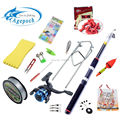 15 Accessories Portable Carbon Telescopic Fishing Sea Rod ultra Spinning Fishing Reel Fishing Tackle Fly Carp