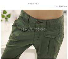 2015 Newest summer autumn pants Plus size XXL women pants Fashion cropped trousers pants capris harem